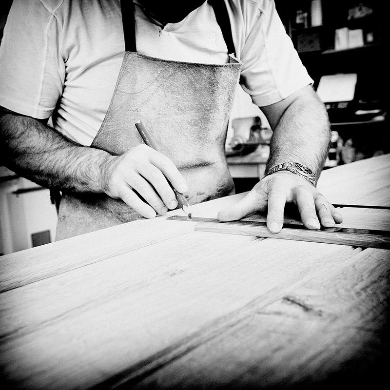 Bruno Boulay in Workshop
